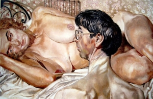 Stanley Spencer's Self-portrait with Patricia Preece 1936